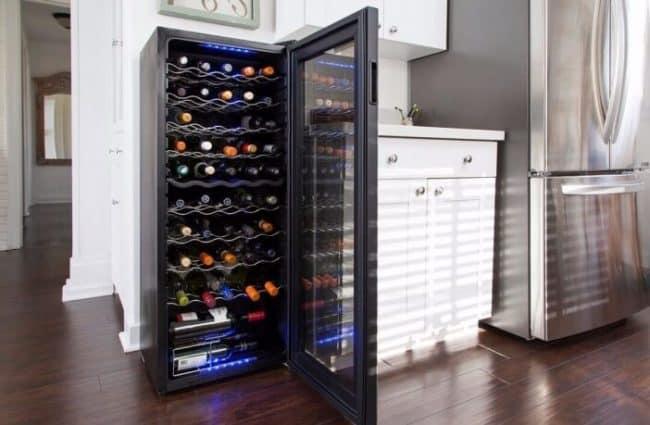 Qué tipos de neveras para vinos o vinotecas hay