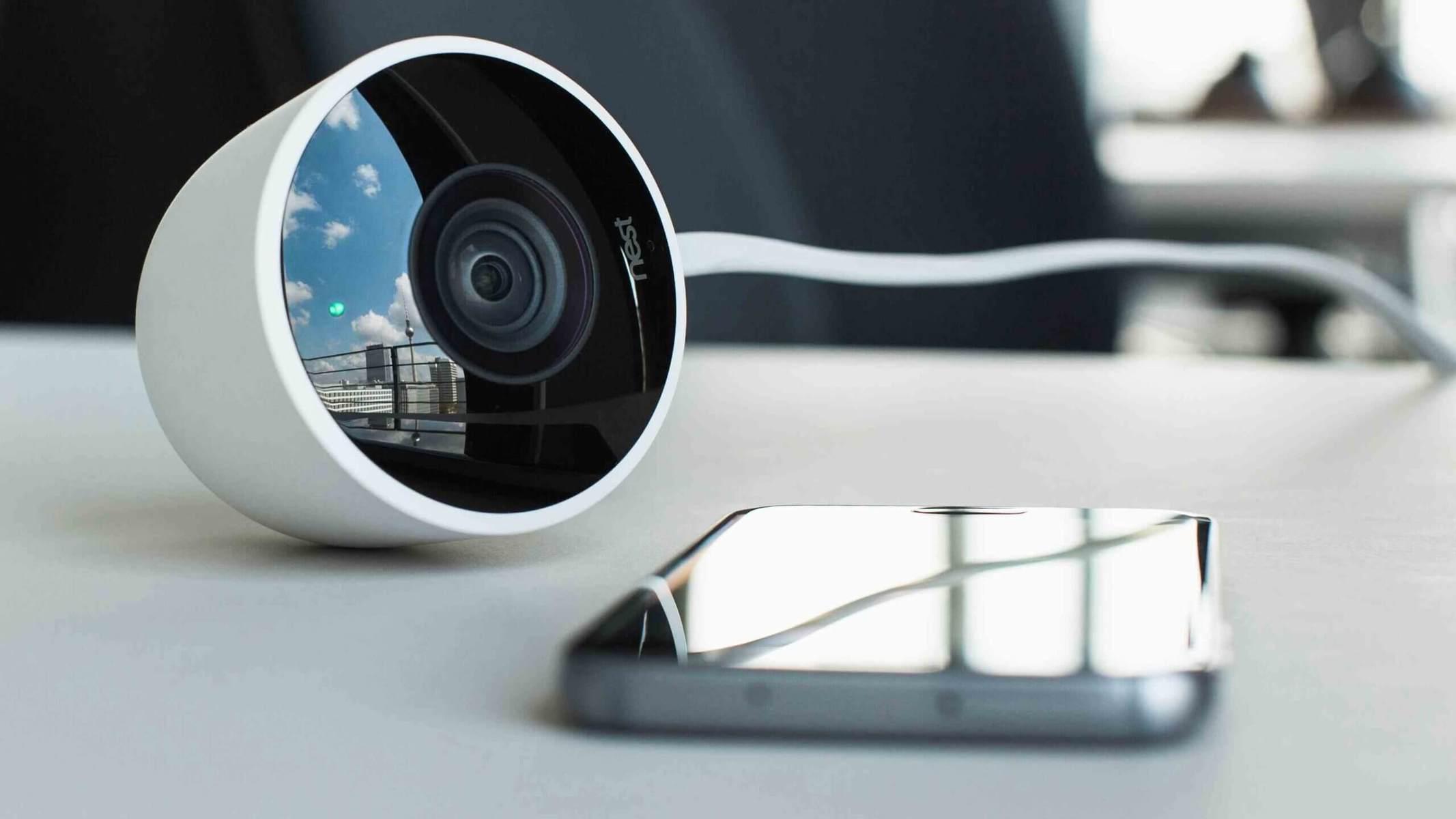 camara de vigilancia exterior
