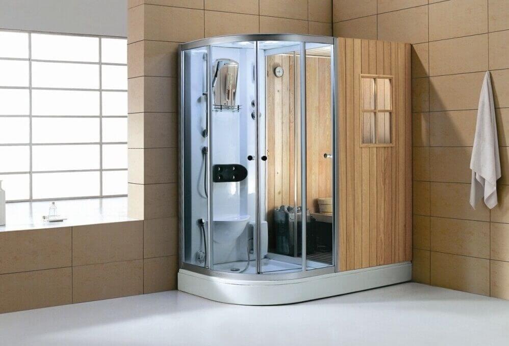 hidromasaje en casa ducha