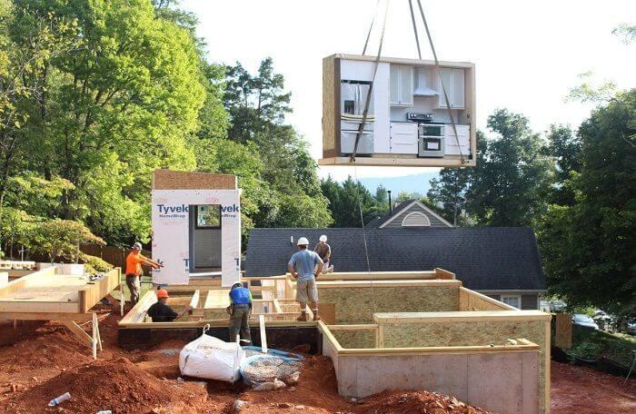 casas prefabricadas construccion