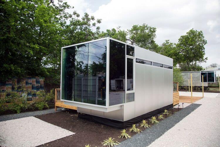 Casa Prefabricada Kasita: Minimalismo y Comodidad.