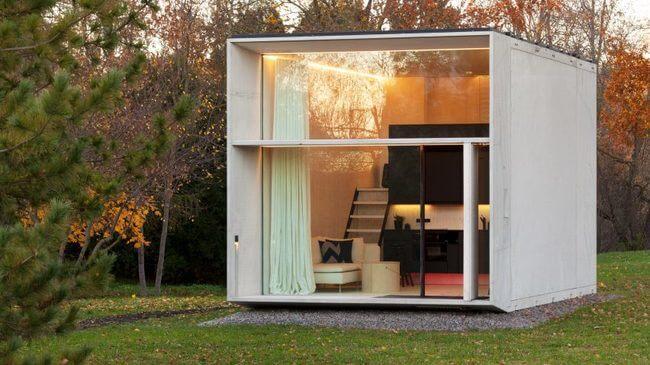 KODA: Una Casa Prefabricada Inteligente Que Usa Energía Solar.