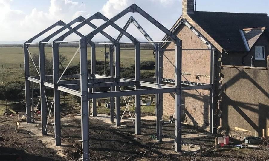 casas steel frame acero